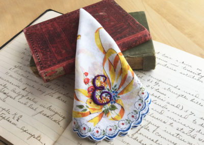 Handkerchief with E