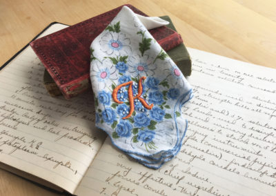 Handkerchief with K