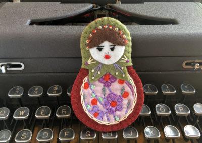 Diana Matryoshka Doll
