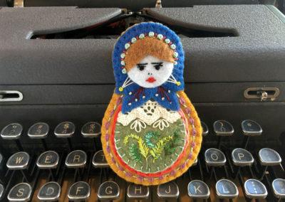 Nadia Matryoshka Doll