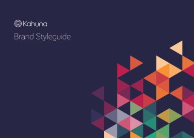 Kahuna Brand Styleguide