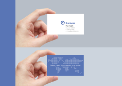 Qordoba Business Card
