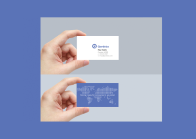 Qordoba Business Cards