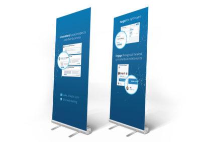 LinkedIn Banner Stands