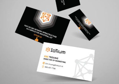 ioTium Business Cards