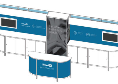 LinkedIn Tradeshow Booth